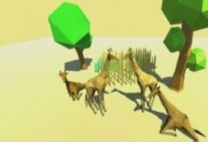 low-poly-giraffe