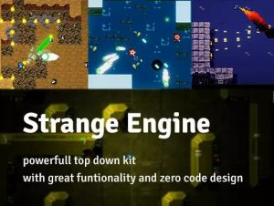 Read more about the article Strange Engine – 2D Top Down Kit