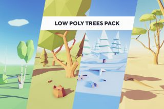 Read more about the article Low Poly Trees – Pack