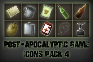 Read more about the article Post-apocalypse Icons Game Pack 4