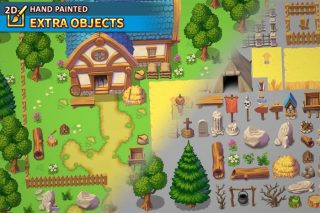 Read more about the article 2D HAND PAINTED – EXTRA OBJECTS TILESET