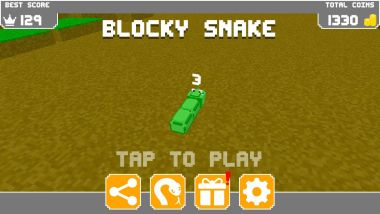 Read more about the article Blocky Snake