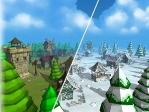 fantasy-medieval-cartoon-village-pack