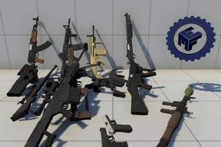 Read more about the article Low Poly FPS Pack for MMFPSE