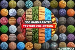 Read more about the article 250+ Hand Painted Textures Mega Bundle