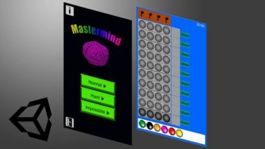 Read more about the article Create your own 2D Mastermind game with the use of the Unity Engine