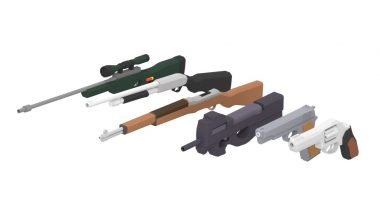 Read more about the article Animated Guns Pack