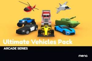 arcade-ultimate-vehicles-pack-low-poly-cars