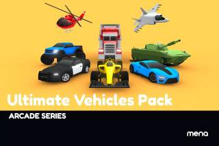Read more about the article ARCADE: Ultimate Vehicles Pack – Low Poly Cars
