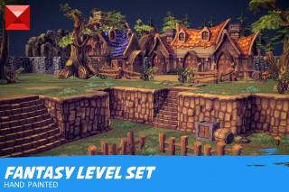 Read more about the article Fantasy Environment Level Set