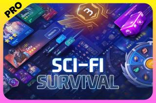Read more about the article GUI PRO Kit – Sci-Fi Survival